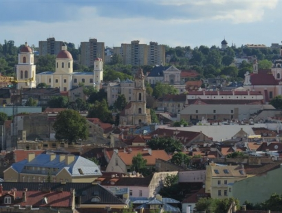 """Vilnius Bike Tour """"HIGHLIGHTS OF VILNIUS"""""""