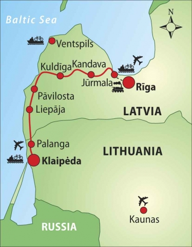 Baltic Bike Tour | Cycling tour in the Baltic States