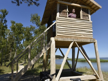 New! Curonian Spit National Park by bike & boat, Lithuania (1 day, guided & self-guided)